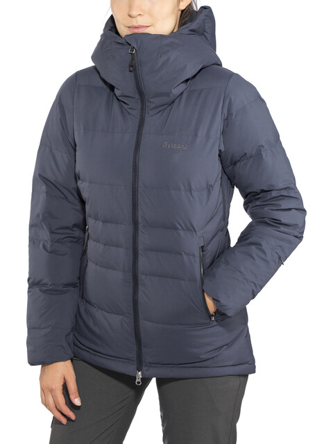 Bergans W's Stranda Down Hybrid Jacket Dark Navy/Dark Fogblue